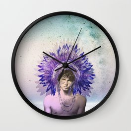 Let's swim to the moon - Mr. Mojo Risin Wall Clock