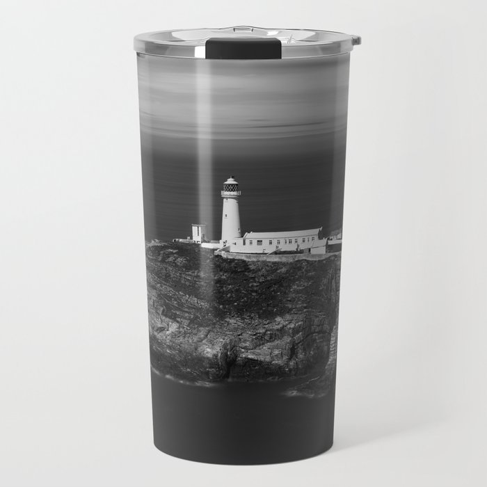 South Stack Lighthouse - Mono Travel Mug