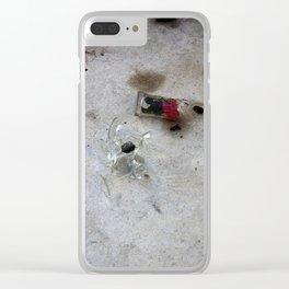 Brussels II Clear iPhone Case