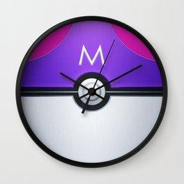 Pokéball - Master Ball Wall Clock