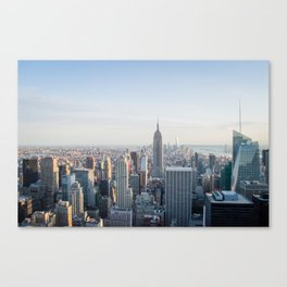 Towers | Urban Landscape Photography of New York City Skyline Buildings Canvas Print
