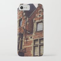 brussels iPhone & iPod Cases featuring Brussels by monography