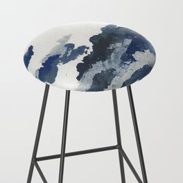 clouds_april Bar Stool