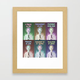 A Moment With Tom! Framed Art Print