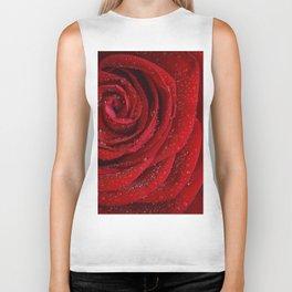 Th red rose Biker Tank