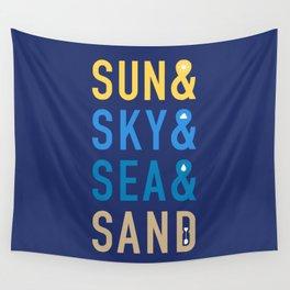 Fun In The Sun Wall Tapestry