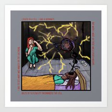 Electric Cellmate Art Print