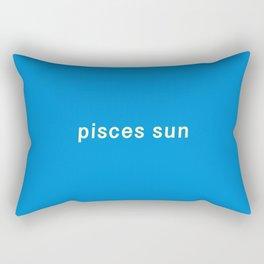 Pisces Sun Rectangular Pillow