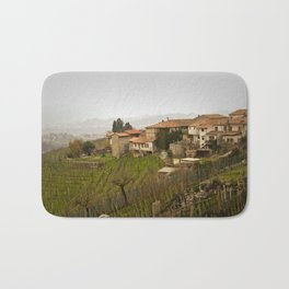 vineyard in veneto Bath Mat