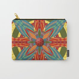 Thistle Pattern Carry-All Pouch