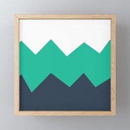 Nautical Crashes Framed Mini Art Print