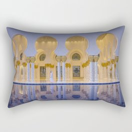 Sheikh Zayed Grand Mosque in Abu Dhabi Rectangular Pillow