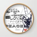 Peace & Love by fightsongco