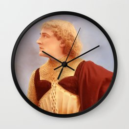 Knight of the Silve Screen Wall Clock