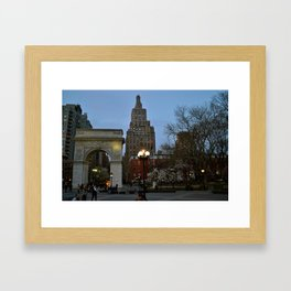 Washington Square Framed Art Print
