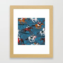 Giddyup! Framed Art Print