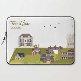 The Hill - Toronto Neighbourhood Laptop Sleeve