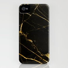 Black Beauty V2 #society6 #decor #buyart Slim Case iPhone (4, 4s)