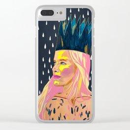 Bubblegum Princess Clear iPhone Case