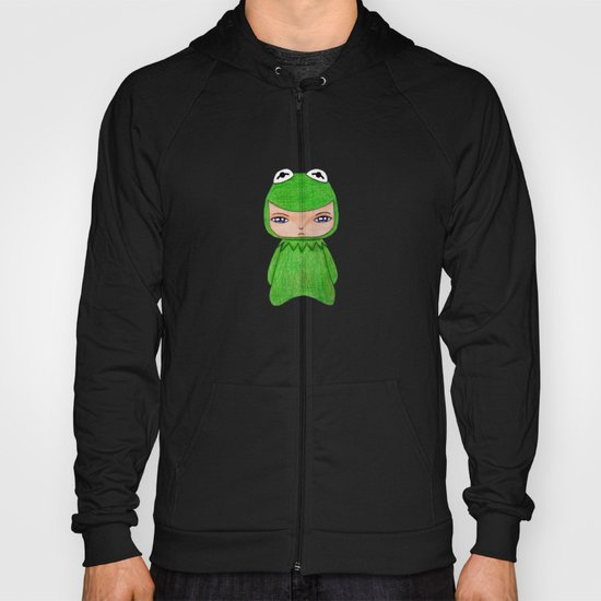 A Boy - Kermit the frog Hoody