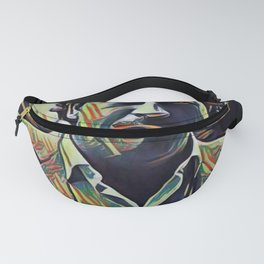 Pablo Escobar Artistic Illustration Picasso Style Fanny Pack