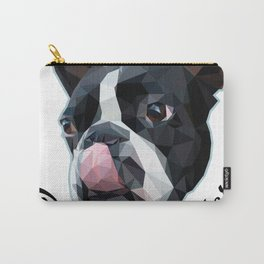 DOG BOSTON TERRIER Carry-All Pouch
