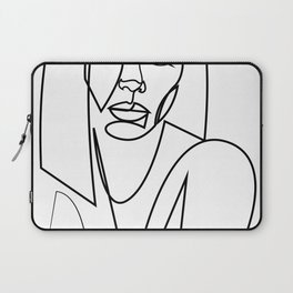 26at - one line female Laptop Sleeve