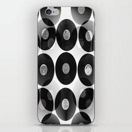 Something Nostalgic II - Black And White #decor #buyart #society6 iPhone Skin