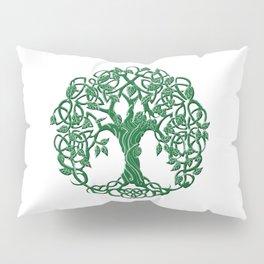 Tree of life green Pillow Sham