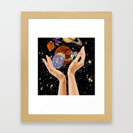 Possessive Framed Art Print