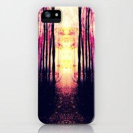 Path to Imagination : Mauve Pink Purple iPhone Case