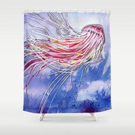 Medusa Jellyfish Shower Curtain
