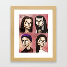 Chingonas Framed Art Print