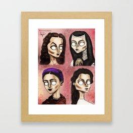 Chingonas Framed Art Print