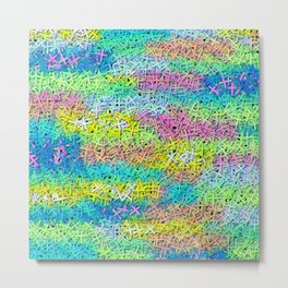 A pile of colorful joy Metal Print