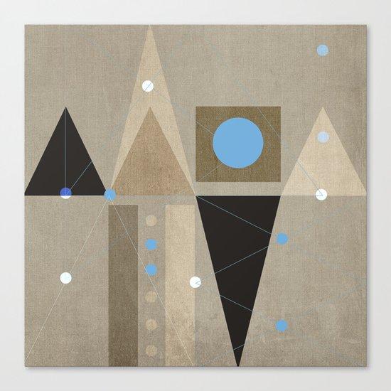 Geometric/Abstract 7 Canvas Print