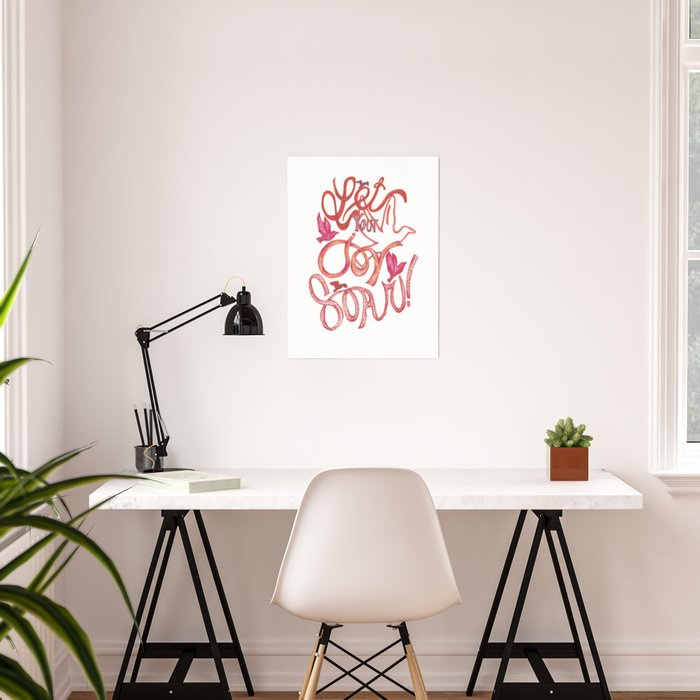 Let Your JOY Soar! Poster