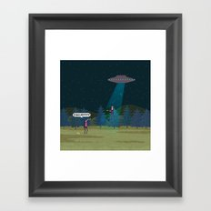 The X-Files Framed Art Print