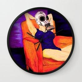 Hooperland Girl Wall Clock
