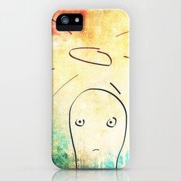 Confused Little Jesus iPhone Case