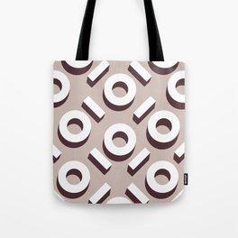 Domio Keyhole Pattern Tote Bag