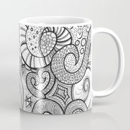 octupi heart Coffee Mug