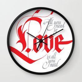 Love for share Wall Clock