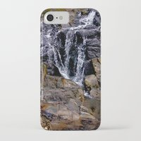 puerto rico iPhone & iPod Cases featuring Diego's Salcedo Waterfall Puerto Rico by Ricardo Patino