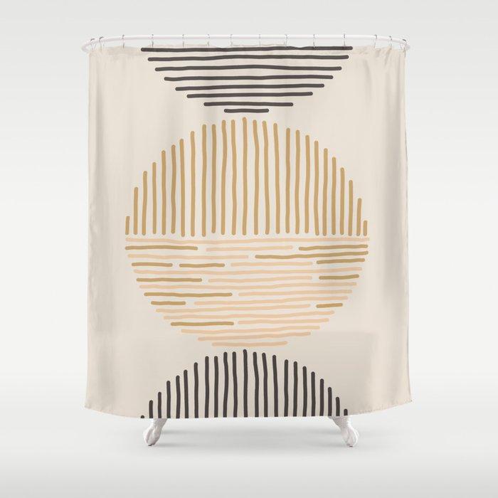 one last swim Shower Curtain