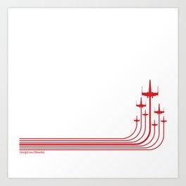 X-Wing Starfighter Art Print
