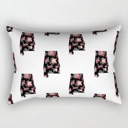 Alabama university of alabama crimson tide floral college football pattern gifts Rectangular Pillow