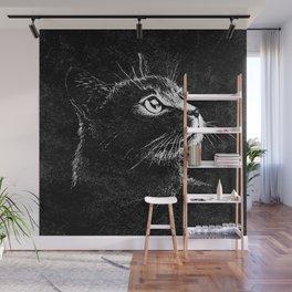Cat Portrait Wall Mural
