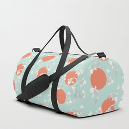 Koi fish pattern 005 Duffle Bag