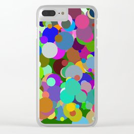 Circles #9  - 03142017 Clear iPhone Case